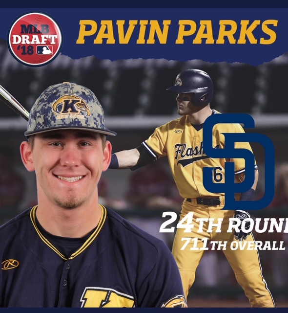 Pavin Parks drafted by the Padres